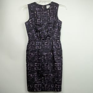 Milly of New York Vintage Purple Cocktail Dress 6